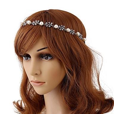 Imitationsperlenlegierungsstirnband-Kopfstückklassischer weiblicher Art