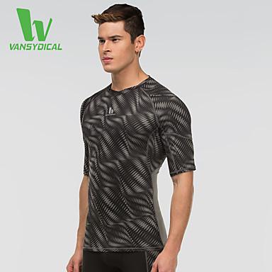 Herrn Laufen Strumpfhosen/Lange Radhose T-shirt Oberteile Atmungsaktiv Rasche Trocknung Videokompression Frühling Sommer Sportbekleidung