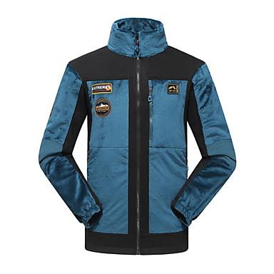 Unisexe Veste de Randonnée Etanche Isolé Respirable Hauts/Tops pour Camping / Randonnée Chasse Pêche Escalade Courses Sport de détente