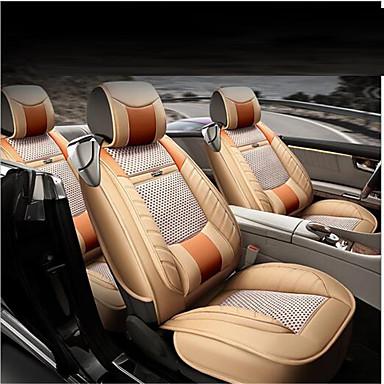 voordelige Auto-interieur accessoires-Auto-stoelkussens Zitkussens Zwart / Koffie / Crème- tekstiili / Hiilikuitu Zakelijk Voor Universeel