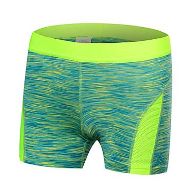 Mulheres Corrida Shorts Respirável Secagem Rápida Corrida Verde Vermelho Preto Azul Roxo