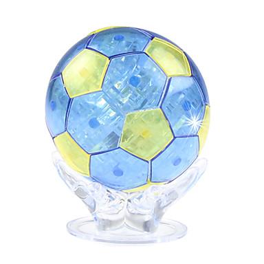 ZHILING Építőkockák Labdák Fejtörő Kristály építőjátékok Toy Foci Játékok Futball Kristály ABS 50 Darabok