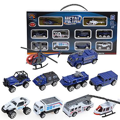 DiBang Spielzeug-Autos Modellauto Spielzeuge Simulation Metalllegierung Kunststoff Metal Legierungsmetall Stücke Kinder Jungen Geschenk