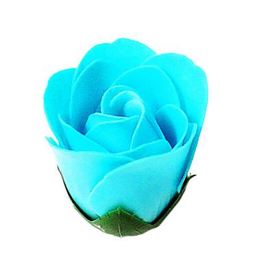 romantische Neuheit Seife Rose Blume Geschenk für Liebhaber 50pcs / set (gelegentliche Farbe) Waschen