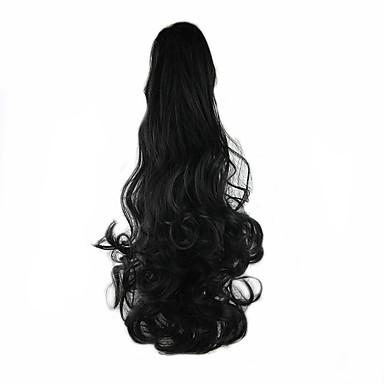 Mit Clip Pferdeschwanz Bärenkralle / Kieferclip Synthetische Haare Haarstück Haar-Verlängerung Wellen