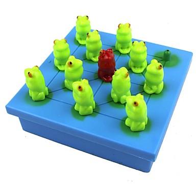 Schachspiel Steckhalma-/Solitär-Spiele Bildungsspielsachen Spielzeuge Frosch Kunststoff Papier 1 Stücke Kinder Erwachsene Geschenk