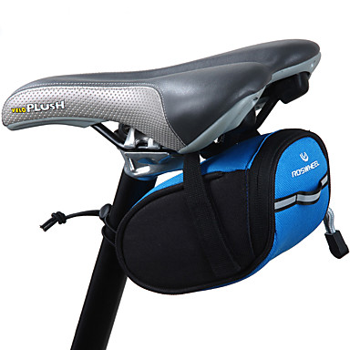 ROSWHEEL תיקי אוכף לאופניים עמיד למים, לביש, רב תכליתי תיק אופניים בד / פּוֹלִיאֶסטֶר תיק אופניים תיק אופניים רכיבה על אופניים / אופנייים