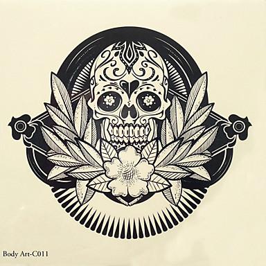 1 Non Toxic Muster Tattoo Aufkleber Klassisch Gute Qualität Alltag