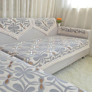 Sofabezug Blumen / Pflanzen Druck 100% Baumwolle Chenille Überzüge
