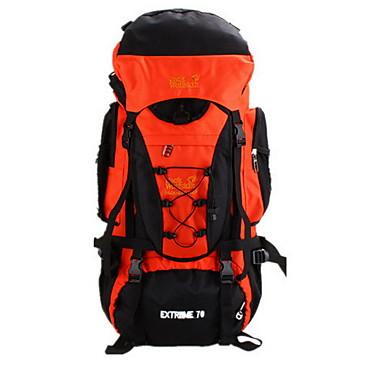 70L L Randonnée pack Escalade Camping & Randonnée Vestimentaire Résistant à l'humidité Multifonctionnel Nylon