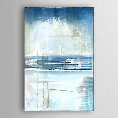 Handgemalte Abstrakt Vertikal,Modern Ein Panel Leinwand Hang-Ölgemälde For Haus Dekoration