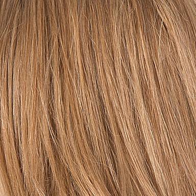 preiswerte Echthaar Perücken mit Spitze-Echthaar Spitzenfront Perücke Stil Brasilianisches Haar Glatt Perücke mit Babyhaar Gefärbte Haarspitzen (Ombré Hair) Natürlicher Haaransatz Afro-amerikanische Perücke 100 % von Hand geknüpft Damen