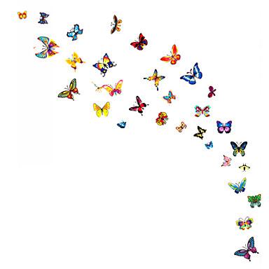 Animais / Desenho Animado / Vida Imóvel / Moda / Floral / Lazer Wall Stickers Autocolantes de Aviões para Parede,PVC 45*30*0.1