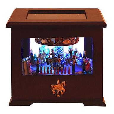 Holz braun kreative romantische Musik-Box für Geschenk