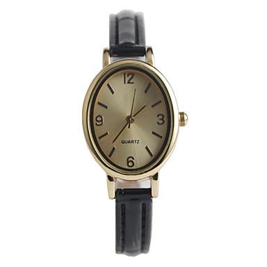 die neuen eleganten ovalen Damenmode Uhr