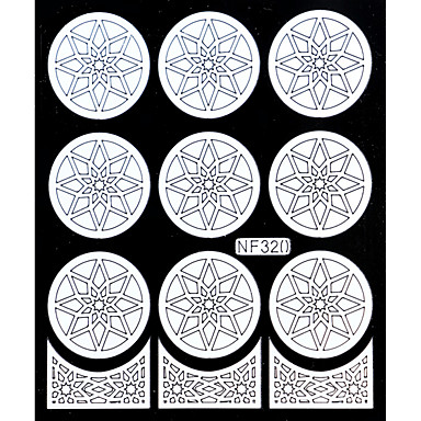 Nail Art Stamping Plate Stamper Scraper 14.5cm*10cm