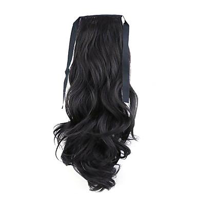 or usine de 50cm de longueur vente directe de type bind prêle friser les cheveux queue de cheval (couleur 99j)