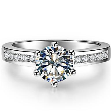 Ringe Modisch / Vintage Hochzeit Schmuck Sterling Silber Damen Statementringe 1 Stück,5 / 6 / 7 / 8 / 9 / 9½ / 4