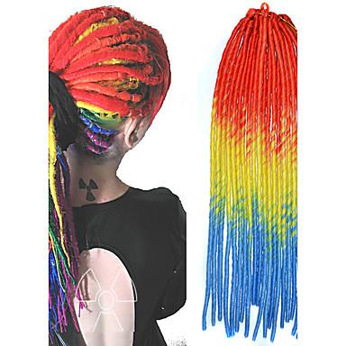 senegal dreadlocks hår extensions 20 Kanekalon 100g hår fletter