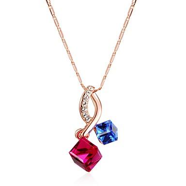 Modische Halsketten Anhängerketten Schmuck Hochzeit / Party / Alltag / Normal Modisch Rotgold 1 Stück Geschenk