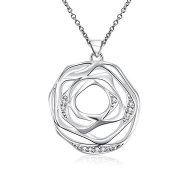 Modische Halsketten Halsketten / Anhängerketten / Statement Ketten Schmuck Hochzeit / Party / Alltag / Normal / Sport Sterling Silber Weiß
