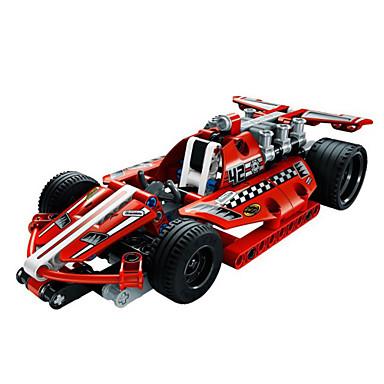 baratos Brinquedos de Montar-Blocos de Construir Blocos Militares Conjunto de construção de brinquedos Carro de Corrida Soldier compatível Legoing Criativo Faça Você Mesmo Para Meninos Para Meninas Brinquedos Dom