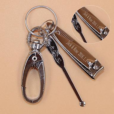 Klassisch Schlüsselanhänger Geschenke Edelstahl Schlüsselanhänger - 1