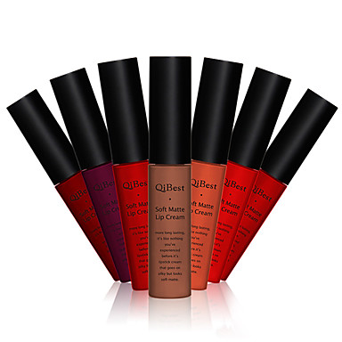 Инструменты для макияжа Бальзам Блеск для губ 1 pcs влажный Цветной глянец Составить косметический Повседневные Товары для ухода за животными