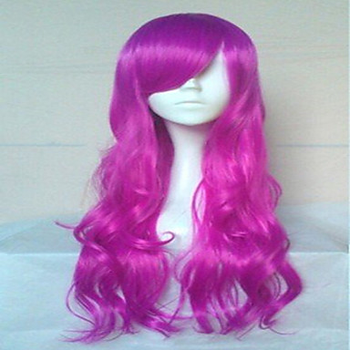 Wonderful Cosplay Wigs Super Long Wavy Synthetic Hair Wig Natural Animated Party Wig 5 Colors