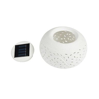 1 W RVB Solaire Etanche / Intensité Réglable / Rechargeable Lampes de nuit / Eclairage solaire LED <5V V ABS