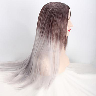 Europa mehrfarbige wärmebeständige Haar synthetische Perücken