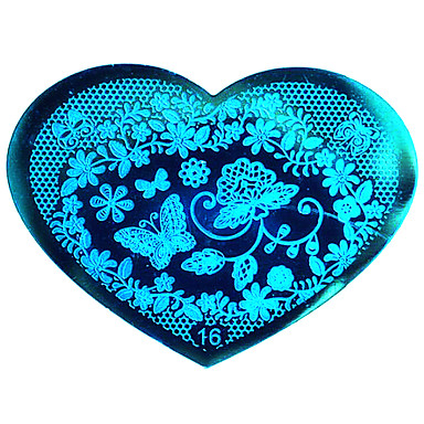 bluezoo Liebe blau Nagel-Kunst (16)