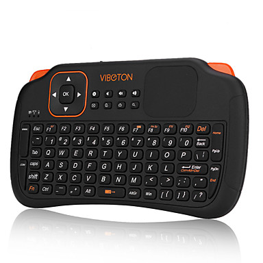 ieftine Cutii TV-mini 2,4g zbura de jocuri mouse-aer tastatură fără fir de control de la distanță pentru PC desktop laptop cu touchpad