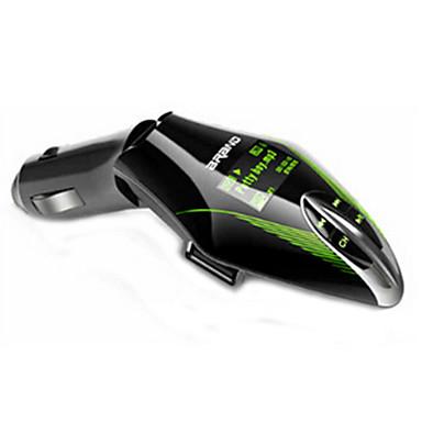 המכונית FM אלחוטי אודיו לרכב משדר MP3 הנהג מתאם השחקן מיני USB לרכב MP3 עם משדר FM