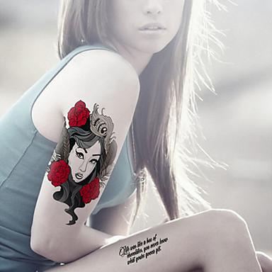 מדבקות קעקועים סדרת תכשיטים סדרת בעלי חיים סדרות פרחים סדרת Totem סדרת Cartoon אנימציה נשים גברים מבוגר נוער פלאש קעקוע קעקועים זמניים