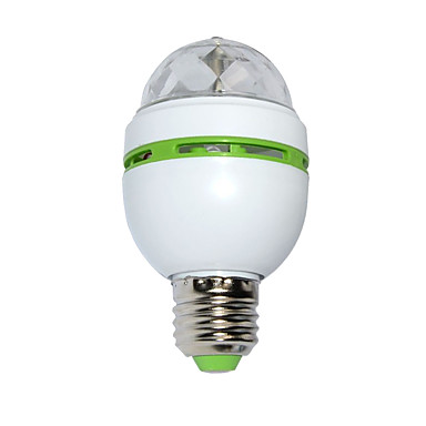3W Luz de LED para Cenários 100 lm RGB SMD Ativada Por Som AC 85-265 V 1 Pças.