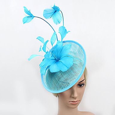 Feder Netz Fascinators Kopfstück elegant klassisch femininen Stil