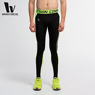 Homme Pantalons de Course - Gris, Vert, Bleu Des sports Pantalon / Surpantalon / Leggings Course / Running Tenues de Sport Séchage