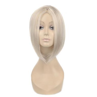 perucas sintéticas do partido de alta qualidade curto da mulher em linha reta