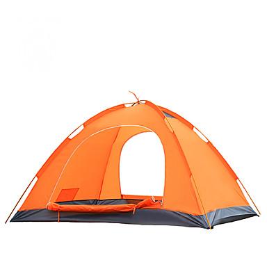 YUNYI® 2 personnes Tente Tentes de Randonnée Une pièce Tente de campingGarder au chaud Etanche Pare-vent Résistant à la poussière