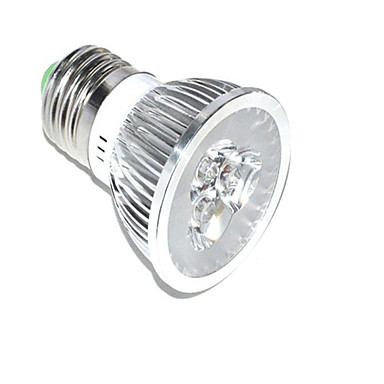 1pc 3W 250lm E26 / E27 Wachsende Glühbirne 3 LED-Perlen Hochleistungs - LED Dekorativ Blau Rot 85-265V