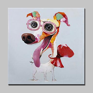 Pintura a Óleo Pintados à mão - Arte Pop Modern Tela de pintura