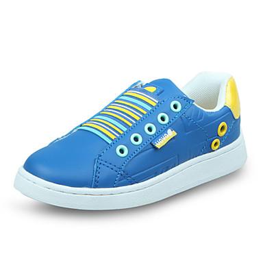 Chaussures bébé-Bleu-Décontracté-Polyuréthane-Baskets à la Mode / Mocassins