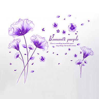 קיר מדבקות בסגנון מדבקות קיר פרח של מדבקות קיר PVC החלום