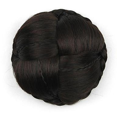 crépus bouclés mariée europe noir cheveux humains capless perruques chignons g660232-l 2/33