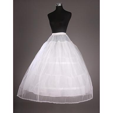Hochzeit Besondere Anlässe Unterhosen Taft Tüll Wadenlänge Abendkleid mit