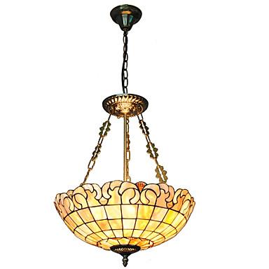 Lampe suspendue ,  Tiffany Autres Fonctionnalité for Style mini MétalSalle de séjour Chambre à coucher Salle à manger Cuisine