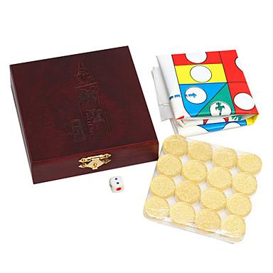 repülő sakk repülés sakk kristály akril anyagok PVC tábla gyermek puzzle játékok sakk arany 24 * 10 mm