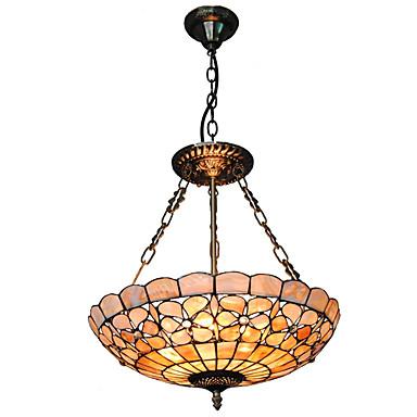 CXYlight Tiffany Pendelleuchten Deckenfluter - Ministil, 110-120V 220-240V Glühbirne nicht inklusive