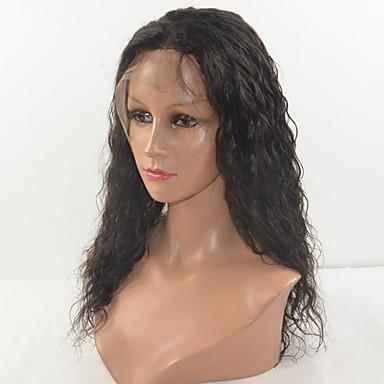 Perucas Lace Front Sintéticas Kinky Curly Densidade Frente de Malha Mulheres Peruca Natural Cabelo Sintético